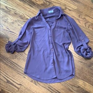 Light purple express blouse